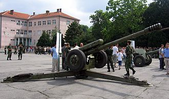 122 mm howitzer 2A18 (D-30) - D-30 Howitzer of the Serbian army