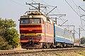 ЧС2Т-1054, поезд Симферополь - Киев, перегон Симферополь - Симферополь-Грузовой.jpg
