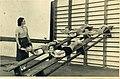 איסר ברסקי, תלמיד כיתה ד בבית ספר תל נורדאו, בשיעור התעמלות 1939.jpg