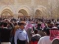 صلاة الجنازة على الشيخ حارث الضاري في مسجد الحسين بن طلال في حدائق الحسين بعمان 10.JPG