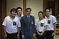 """กลุ่มเยาวชน """"D Ambassdor"""" ร่วมต่อต้านยาเสพติ - Flickr - Abhisit Vejjajiva (1).jpg"""