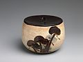 伝尾形乾山 松文水差-Water Jar (Mizusashi) with Pine Trees MET DP247462.jpg