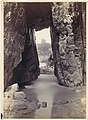 -View Through Rocks' Of Tower On Hill- MET DP112673.jpg