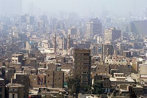0021 Cairo in smog, 2010