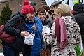 02016 Alten Teilnehmer und KOD-Teilnehmerinnen demonstrierten gegen die polnische PiS-Politik.JPG