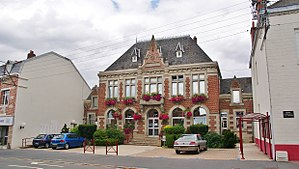 Vitry-en-Artois - The town hall of Vitry-en-Artois