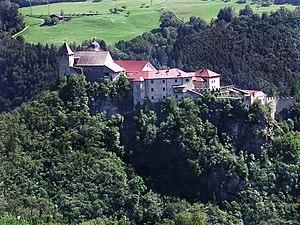 Säben Abbey - Aerial view of Säben Abbey