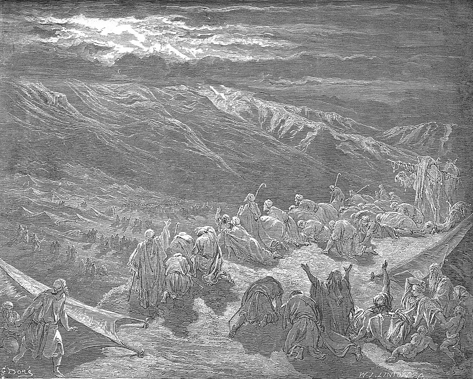 038.The Giving of the Law on Mount Sinai