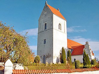 Peder Syv - Hellested Kirke, where Syv served as the parish priest from 1664 until his death in 1702.