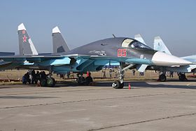 05 Red Sukhoi Su-34 Russian Air Force (8019178443).jpg