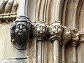 087 Sant Esteve de la Doma, imposta de la portalada gòtica.jpg