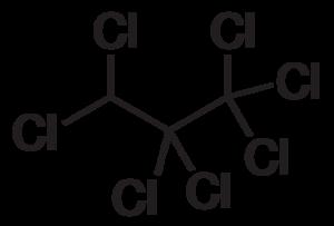 1,1,1,2,2,3,3-Heptachloropropane - Image: 1,1,1,2,2,3,3 Heptachloropropane