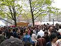 1. Mai 2013 in Hannover. Gute Arbeit. Sichere Rente. Soziales Europa. Umzug vom Freizeitheim Linden zum Klagesmarkt. Menschen und Aktivitäten (233).jpg