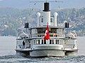100 Jahre Dampfschiff 'Stadt Rapperswil' - Tag der offenen Dampfschiff-Türe am Bürkliplatz - Alpenquai 2014-04-26 17-50-58 (P7700).JPG