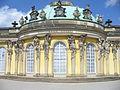 1018.Schloß Sanssouci(frz.sans souci = ohne Sorge) am Hang eines Weinberg 1745-1747 Steffen Heilfort.JPG