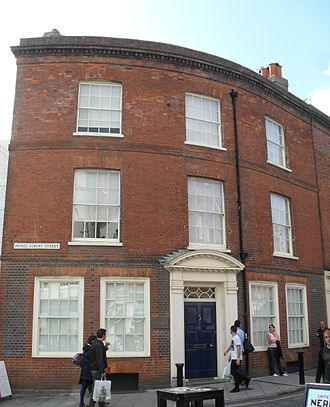 Clayton & Black - 10 Prince Albert Street in The Lanes was the firm's base from 1904.
