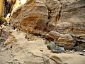 12 Wadi Ghuweir Trail to Feynan - Interesting Rock Formations - panoramio.jpg