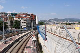 Sant Andreu Comtal railway station