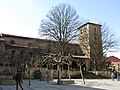 156 Església de San Nicolás de Bari, o de San Francisco (Avilés), façana nord.jpg
