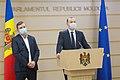 16.12.2020 Briefing de presă al vicepreședitnelui Parlamentului Vlad Batrîncea și deputatului Radu Mudreac, Fracțiunea Partidului Socialiștilor din Republica Moldova (50726215071).jpg