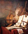 1676 de Valck Stilleben mit einem Jakobsstab anagoria.JPG