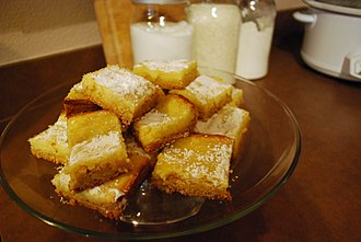Butter cake - Gooey butter cake