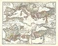 1865 Spruner Map of the Mediterranean from Pompey to the Battle of Actium - Geographicus - MareInternumPompeii-spruner-1865.jpg