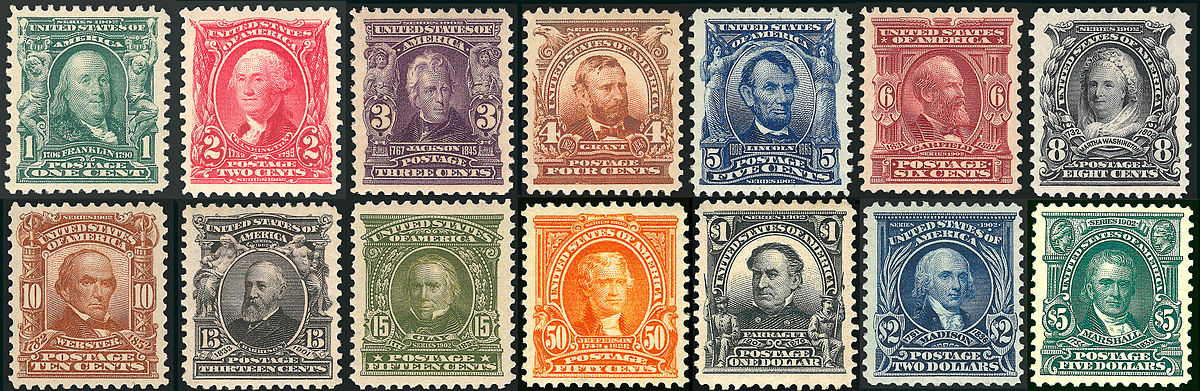 Series Of 1902 United States Postage Stamps Wikipedia