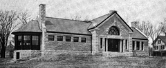 1904 public library Rockland Maine.png