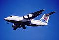 190cx - Croatia Airlines BAe 146-200, G-OZRH@LHR,05.10.2002 - Flickr - Aero Icarus.jpg