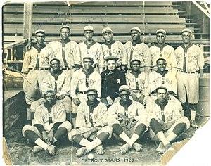 Detroit Stars - The 1920 Detroit Stars