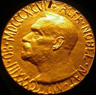 Nobel Peace Prize One of five Nobel Prizes established by Alfred Nobel