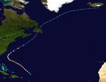 1948 Atlantischer Hurrikan 3 track.png