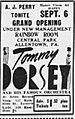 1951 - Central Park - Rainbow Room Ad - 6 Sep MC - Allentown PA.jpg