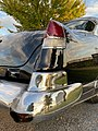 1953 Cadillac Sixty Special Fleetwood sedan in black Hershey 2019 AACA swap area 4of4.jpg