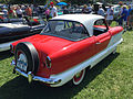 1957 Metropolitan by American Motors in red and white at 2015 Macungie show 2of3.jpg