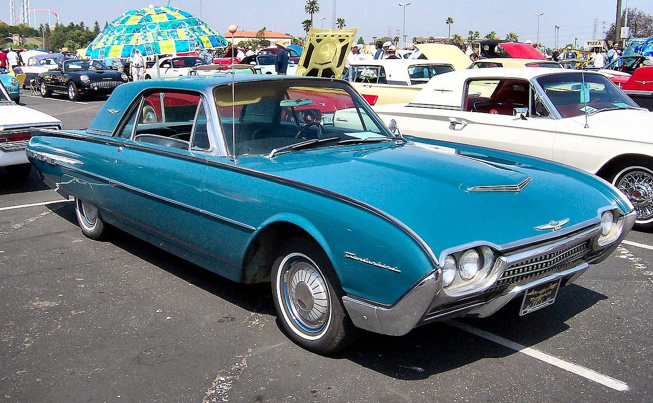 File 1962 Ford Thunderbird Wikimedia Commons