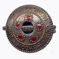 1967. Days of the Latvian SSR. Moscow. Badge.png