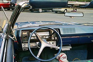 AMC Rebel - 1967 Rambler Rebel 770 safety-oriented instrument panel