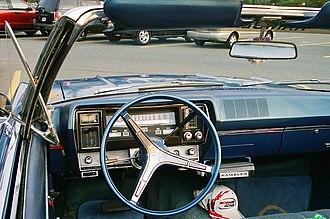 AMC Rebel - 1967 Rambler Rebel 770 safety-oriented instrument panel