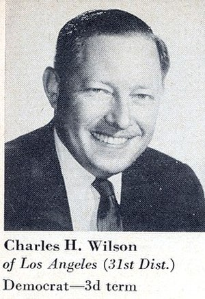 Charles H. Wilson - 1967, Congressional Pictorial Directory
