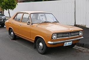 Holden Torana - Holden Torana (LC) Deluxe 1200 4-door