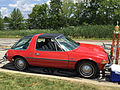 1976 AMC Pacer DL coupe in red with black at AMO 2015 meet 2of7.jpg