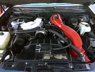 Buick V6 engine - The original, carburetted turbocharged LD5 from a 1978 Regal Sport Coupé