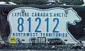 1986 Northwest Territories license plate 81212.jpg