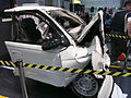1997-1999 Holden VT Commodore Executive sedan (100 kilometres per hour wreckage) 06.jpg