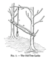 19th century knowledge carpentry and woodworking old tree lathe.PNG