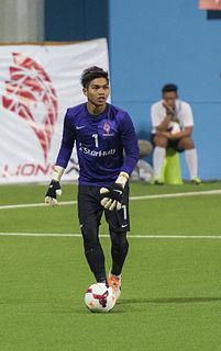 Izwan Mahbud Singaporean footballer