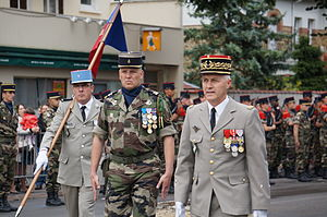 1st Mechanised Brigade (France) - General Bruno Guibert commanding 1st Mechanised Brigade