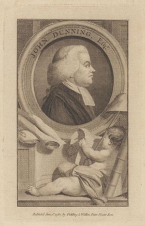 "John Dunning, 1st Baron Ashburton - ""John Dunning, Esqr."", as a young man"